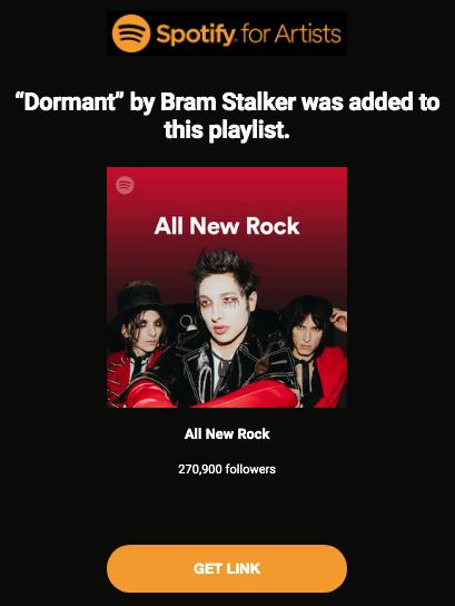 All New Rock Bram Stalker
